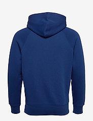 GANT - D1. COLOR LOCK UP HOODIE - hoodies - crisp blue - 1