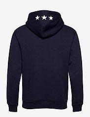 GANT - D2. GANT RETRO SHIELD SWEAT HOODIE - hoodies - classic blue - 1