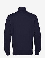 Gant - D1. GRAPHIC FULL ZIP CARDIGAN - svetarit - evening blue - 1
