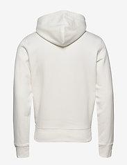 GANT - D1. MEDIUM SHIELD HOODIE - basic sweatshirts - eggshell - 1