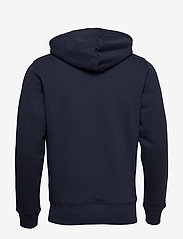 GANT - D1. MEDIUM SHIELD HOODIE - basic sweatshirts - evening blue - 1