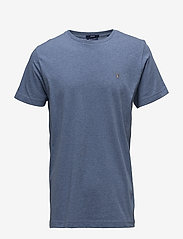 GANT - ORIGINAL SS T-SHIRT - kurzärmelig - denim blue mel - 0
