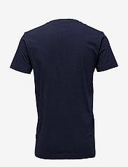 GANT - ORIGINAL SS T-SHIRT - short-sleeved t-shirts - evening blue - 1