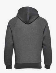 GANT - SHIELD HOODIE - hoodies - antracit melange - 1