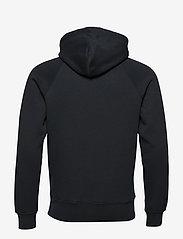 GANT - SHIELD HOODIE - hoodies - black - 1