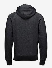 Gant - SHIELD HOODIE - hoodies - dark antracit melange - 1