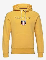 Gant - SHIELD HOODIE - hoodies - mimosa yellow - 0