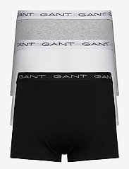 GANT - 3-PACK TRUNK - boxers - grey melange - 1