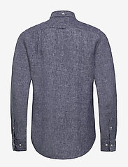 Gant - THE LINEN SHIRT SLIM BD - chemises basiques - persian blue - 1