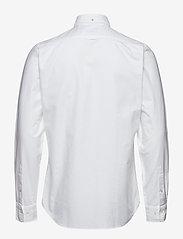 GANT - SLIM OXFORD SHIRT BD - basic shirts - white - 1