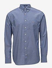 Gant - REG BROADCLOTH BD - business-paidat - college blue - 0