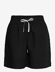 GANT - D2. SUMMER LINEN SHORTS - shorts casual - black - 0