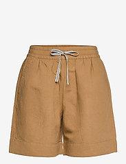 GANT - D2. SUMMER LINEN SHORTS - shorts casual - warm khaki - 0