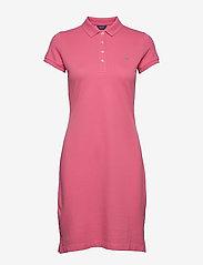 Gant - THE ORIGINAL PIQUE SS DRESS - korta klänningar - rapture rose - 0