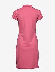 Gant - THE ORIGINAL PIQUE SS DRESS - korta klänningar - rapture rose - 1