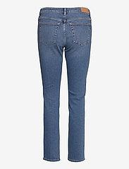 GANT - SLIM SUPER STRETCH JEANS - slim jeans - semi light blue broken in - 1