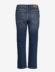 GANT - D1. CROPPED BOYFRIEND JEANS - dżinsy chłopaka - semi light blue broken in - 1