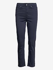 GANT - TP HW CROPPED SLIM JEANS - slim jeans - evening blue - 0