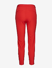GANT - O1. STRAIGHT CROPPED PANT - broeken med skinny fit - bright red - 1