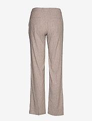 Gant - D2. STRETCH LINEN SLIM SLOUCH PANT - pantalons droits - dark khaki - 1