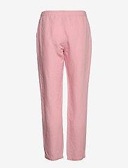 Gant - D2. SUMMER LINEN PULL-ON PANT - pantalons droits - summer rose - 1