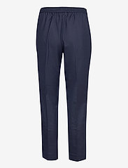 GANT - D1. WOOL BLEND PULL ON PANT - casual trousers - evening blue - 1