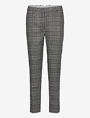 GANT - D1. CHECKED CLASSIC TAPERED PANT - straight leg trousers - evening blue - 0