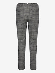 GANT - D1. CHECKED CLASSIC TAPERED PANT - straight leg trousers - evening blue - 1