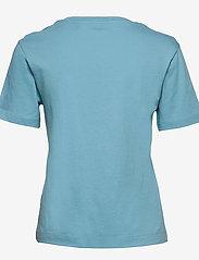 GANT - ORIGINAL SS T-SHIRT - basic t-shirts - seafoam blue - 1