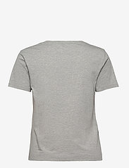 GANT - ORIGINAL V-NECK SS T-SHIRT - t-shirts - light grey melange - 1