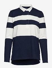 Gant - D1. STRIPED  HEAVY RUGGER - pikeepaidat - evening blue - 0