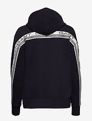 GANT - D1. 13 STRIPES FULL ZIP HOODIE - hoodies - evening blue - 1