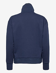 GANT - D1. HALF ZIP SWEAT - sweatshirts - evening blue - 1
