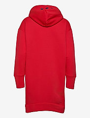 GANT - D2. GANT RETRO SHIELD HOODIE DRESS - t-shirt dresses - bright red - 1