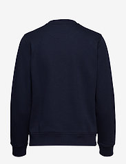 Gant - GANT LOCK UP C-NECK SWEAT - sweatshirts - evening blue - 1
