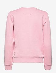 GANT - ARCHIVE SHIELD C-NECK SWEAT - sweatshirts - preppy pink - 1