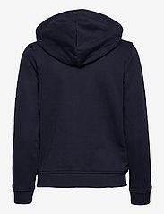 GANT - D2. ARCHIVE SHIELD FULL ZIP HOODIE - hoodies - evening blue - 1
