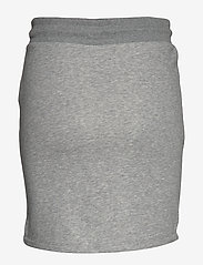 Gant - D1. GANT LOCK UP SWEAT SKIRT - korta kjolar - grey melange - 1