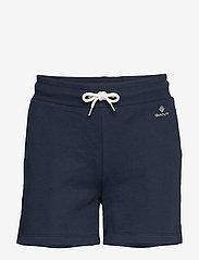 GANT - LOCK UP SWEAT SHORTS - shorts casual - evening blue - 0