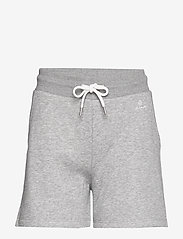 GANT - LOCK UP SWEAT SHORTS - shorts casual - grey melange - 0
