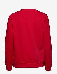 GANT - ARCH LOGO C-NECK SWEAT - sweatshirts - bright red - 1