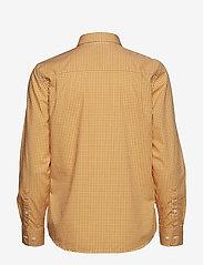 Gant - THE BROADCLOTH GINGHAM SHIRT - pitkähihaiset paidat - ivy gold - 1