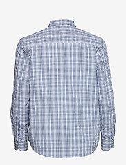 Gant - D1. TP CHECKED BOW BLOUSE - pitkähihaiset paidat - crisp blue - 1