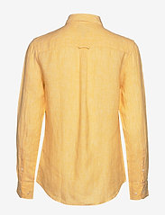 GANT - THE LINEN CHAMBRAY SHIRT - chemises à manches longues - mimosa yellow - 1