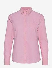 GANT - OXFORD SHIRT - long-sleeved shirts - pastel pink - 0