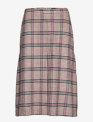 Gant - D1. WASHABLE STRETCH WOOL SKIRT - midi - warm khaki - 0