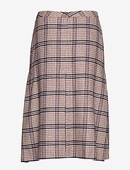 Gant - D1. WASHABLE STRETCH WOOL SKIRT - midi - warm khaki - 1