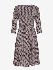 Gant - D1. AUTUMN PRINT DRESS - midimekot - mahogny red - 0
