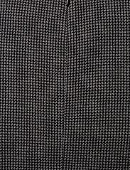 Gant - D1. DOGTOOTH JERSEY CL SHIFT DRESS - midimekot - dark grey melange - 4
