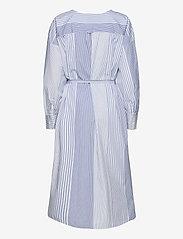 GANT - D1. MIX STRIPE KAFTAN DRESS - shirt dresses - blue bell - 1